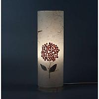 Đèn giấy dó cẩm tú cầu xếp hoa, đèn trang trí nội thất, đèn để bàn phòng ngủ hàng chính hãng.