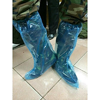 Ủng bọc giày đi mưa bằng nilon loại đẹp dùng nhiều lần
