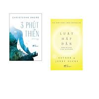 Combo 2 cuốn sách: 3 phút thiền + Luật hấp dẫn