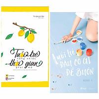 Combo 2 Cuốn Sách Tâm Đắc Về Nghệ Thuật Sống Đẹp: Tuổi Trẻ Đâu Có Gì Để Buồn + Tuổi Trẻ Nồng Nhiệt, Thời Gian Phai Mờ (Tặng kèm Bookmark Green Life)