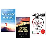 Combo 3 Cuốn Sách Mang Đến Cho Bạn Tư Duy Tích Cực