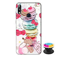 Ốp lưng điện thoại Asus Zenfone Max Pro M2 hình Tình Yêu Gấu Bông tặng kèm giá đỡ điện thoại iCase xinh xắn - Hàng chính hãng