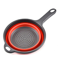 Kitchen Strainers Collapsible Colander Kitchen Food Strainers Folding Water Filter Basket