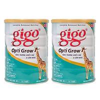 Combo 2 hộp Sữa Bột Gigo Opti Grow 900g - giúp tăng trưởng chiều cao cho trẻ từ 1-17 tuổi