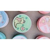 Khay đựng lens kính áp tròng Bơ + cute unicorn