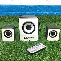 Bộ 3 Loa Máy Tính D-230 Hỗ Trợ Bluetooth, USB, thẻ nhớ, jack 3.5 Giao Màu Ngẫu Nhiên