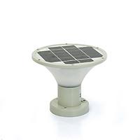 Đèn Trụ Cổng Năng Lượng Mặt Trời SUNTEK GD-08(Tròn)- Hàng Chính Hãng