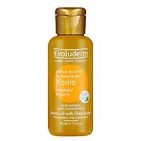 Tinh dầu Bơ hạt mỡ dưỡng ẩm nuôi dưỡng da Huile Karite Evoluderm 100ml - 3053
