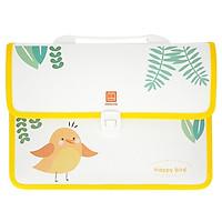 Cặp Học Sinh Happy Bird - Hồng Hà 3858 - Màu Vàng