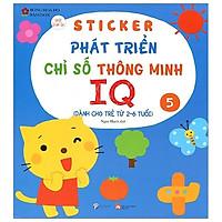 Sticker Phát Triển Chỉ Số Thông Minh IQ - Tập 5