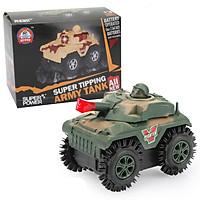 Đồ chơi mô hình xe tăng chạy pin chạy nhanh khỏe, nhựa nguyên sinh an toàn
