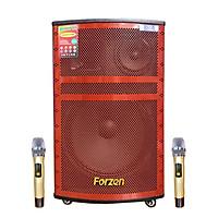 Loa kẹo karaoke bluetooth karaoke bluetooth Forzen F-1508 - Hàng chính hãng