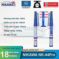 Thang nhôm rút đơn Nikawa NK-44PRO