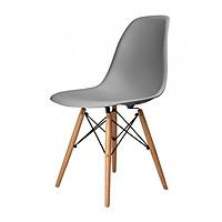 Ghế xám chân gỗ ( Không đệm )