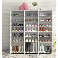 Tủ giày lắp ghép 21 ô có 3 ô lớn