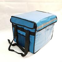 Túi giữ nhiệt giao hàng 44 lít xanh dương