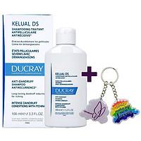 Dầu Gội Sạch Gàu, Dịu Ngứa DUCRAY Kelual Ds Shampoo (100ml) + TẶNG MÓC KHÓA