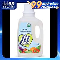 Nước ngâm rửa rau củ quả hữu cơ Fit Organic 946ml