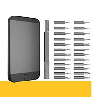Bộ tua vít đa năng 25 chi tiết chuyên sửa chữa thiết bị điện tử Deli DL3525