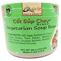 GIA VỊ NẤU Súp Chay Cốt Quốc Việt Foods 300g-Gia vị hoàn chỉnh nhập khẩu