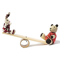 Thỏ và gấu chơi bập bênh Buratino ET18-0007