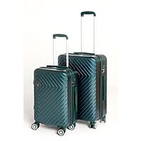 Vali kéo du lịch SUNNY SV02 size 24- Nhựa dẻo PC vân xước, khóa TSA tiêu chuẩn Mỹ