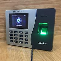Máy chấm công vân tay - thẻ từ RONALD JACK K14-Pro ( Hàng nhập khẩu)