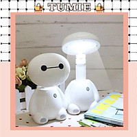 Đèn Học Để Bàn, Đèn Học tích điện thông minh, Đèn mô hình ROBOT, Đèn Mini Trang Trí Phòng Học