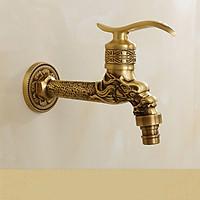 Vòi rửa Lavabo VOI0019-họa tiết rồng nổi uy nghiêm và cổ điển
