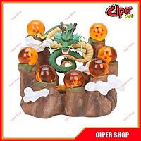 Combo rồng thần, 7 viên ngọc rồng , quả núi -combo Ngọc, Đế, Rồng Dragon Ball