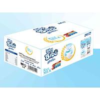 [ HT - sữa gạo từ gạo ST25] Bibabibo thùng (24 lon) 330ml, tốt cho da, giảm cân, tim mạch