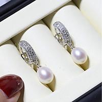 Bông Tai Nữ| Bông Tai Ngọc Trai Sang Trong Cho Nữ B2540 - Bảo Ngọc Jewelry