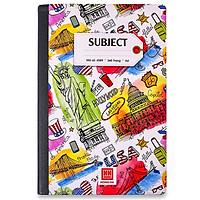 Sổ Bìa Bồi Subiect A4 - 360 Trang - Hồng Hà 4589 - USA