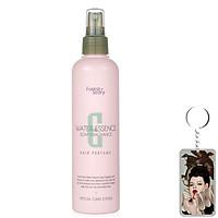 Keo xịt và tạo kiểu tóc hương nước hoa Confume Water Essence Soap Fragrance Hàn Quốc 252ml tặng móc khóa