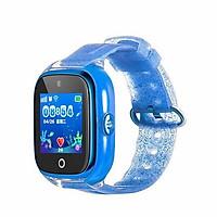 Đồng hồ định vị trẻ em chống nước Wonlex KT01 (GPS, WIFI, LBS) có rung, camera (Xanh) - Hàng chính hãng