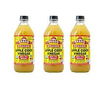 Giấm táo hữu cơ Organic Bragg 473ml (3 chai)