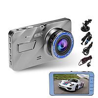 Camera hành trình ô tô trước sau A10 ống kính kép siêu bền Full HD1080P