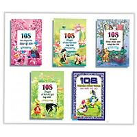 Combo Truyện Hay Kể Cho Bé Nghe: 108 Câu Chuyện Nhỏ Đạo Lý Lớn + 108 Truyện Cổ Tích Việt Nam Hay Nhất + 108 Truyện Đồng Thoại Nhỏ Sáng Tạo Lớn + 108 Truyện Cổ Tích Thế Giới Hay Nhất + 108 Truyện Đồng Thoại Hay Nhất Thế Giới (Bộ 5 cuốn) - Tặng kèm Bookmark thiết kế Aha