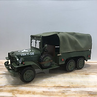 Hộp đựng khăn giấy ăn mô phỏng hình ảnh chiếc xe tải của quân đội Mỹ thời chiến độc đáo, đẹp mắt mang đậm chất lịch sử