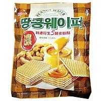 Bánh kem xốp đậu phộng 5 lớp Chiao-E Đài Loan 256g (sữa chay)