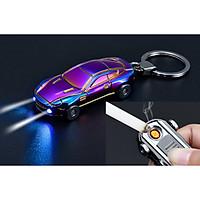Bật lửa điện hồng ngoại đèn pin hình siêu xe đẳng cấp (màu ngẫu nhiên)