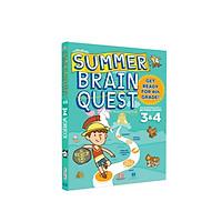 Sách - summer brain quest grade 3&4 - Sách cho trẻ  8 - 9 tuổi