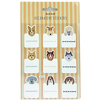 Sticker Moshi 004 - Hình Chó