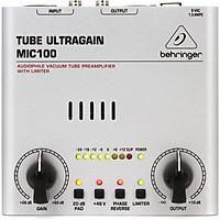Bộ tiền khuếch đại Behringer Tube Ultragain Mic100 - Hàng chính hãng