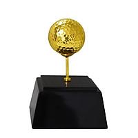 Quả bóng Golf mạ vàng - Quà tặng cho người chơi Golf