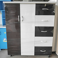 Tủ nhựa đài loan cao 1m25 ngang 1m06 sâu 45cm nhiều màu