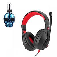 Tai nghe chụp tai CT-800 kèm mic đàm thoại dành cho Game thủ chống nhiễu, chống ồn tốt + Tặng hộp quẹt bật lửa bay mặt ma cao cấp (màu ngẫu nhiên)