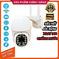 Camera IP Yoosee Ngoài Trời PTZ MINI Xoay 360° FULLHD 2.0 Mpx  (1920x1080) Siêu Nét Kèm Thẻ Nhớ 64gb - Hàng chính hãng