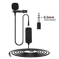 Bộ khuếch đại micrô Điều chỉnh âm lượng Chức năng màn hình thời gian thực với  Bộ điều hợp âm thanh 3,5mm đến 6,5mm