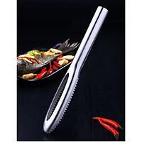 Dụng cụ đánh vải cá inox - 26.5x3.5cm 106g